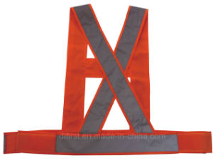 Orange High Visibility Reflective Belt (DFB003) pictures & photos