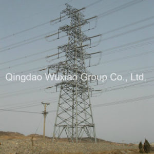 Power Supply Power Distribution Transmission Line Iron Tower pictures & photos