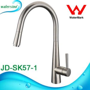 Stainless Steel Watermark Pull out Kitchen Mixer Sink Tap pictures & photos