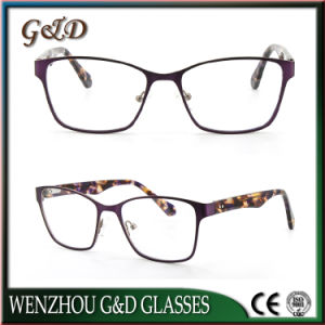 Fashion Eyewear Eyeglass Optical Metal Frame 45-502 pictures & photos