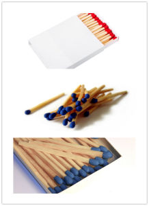 55mm Wooden Waterproof Safety Matches pictures & photos