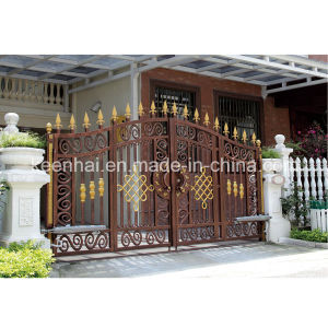 Villa Architectural Decorative Cast Aluminum Metal Garden Gate pictures & photos