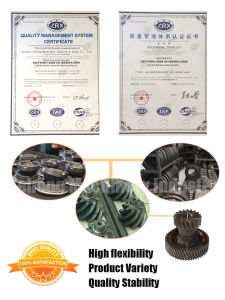 BS3300 Helical Bevel Gear Ratio 11/47 Long Life for Ford Spiral Bevel Gear pictures & photos