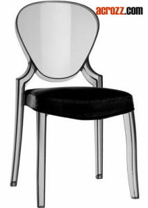 Plastic Clear Stackable Banquet Modern Furniture Ghost Dining Chair pictures & photos