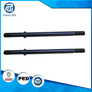 Customized Forged Alloy Steel AISI Precision 4140 42CrMo Worm Shaft pictures & photos