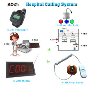Hospital Paging System with Patient Button and Room Light pictures & photos
