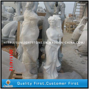 Pure White Marble Statue, Marble Sculpture pictures & photos