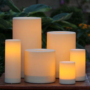 High Quality Flameless Wax LED Candle pictures & photos