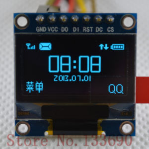 0.96 OLED Display with Blue Backlight pictures & photos