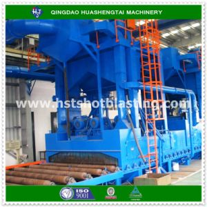 Steel Plate Pretreatment Line for Ship Yard and Steel Bridge Construction