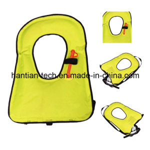 75n Maunual Inflatable Life Jacket for Sale (HT75) pictures & photos