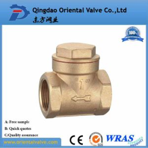 "1 1/4"" Bsp Female Check Foot Valve Suction Brass Non Return Valve for Pump pictures & photos"
