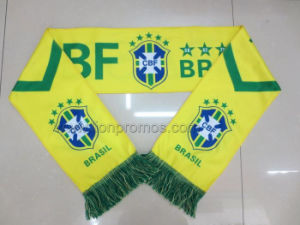 Beer Promotion World Cup Footbal Game Fans Bravo Acrylic Scarf pictures & photos