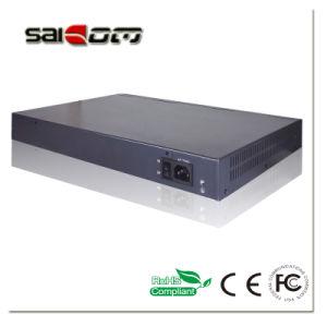 Saicom(SCPOE2-4G24E) 25.5V/15.4V 4SFP Slots 24 Gigabit Poe Switch pictures & photos