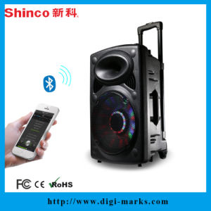 Top Sale Best Christmas Gifts Bluetooth Karaoke Leather Speaker pictures & photos