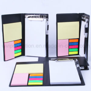 Writing Memo Pad with Clip Folder for Business Gift (PN247) pictures & photos