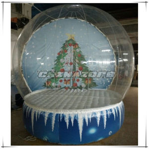 Great Design Custom Made Inflatable Snow Globe for Christmas Decoration pictures & photos
