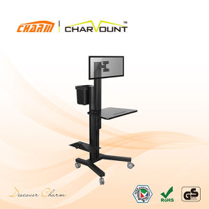 High Quality Height Adjustable PC Mobile Cart (CT-FTVS-T301) pictures & photos
