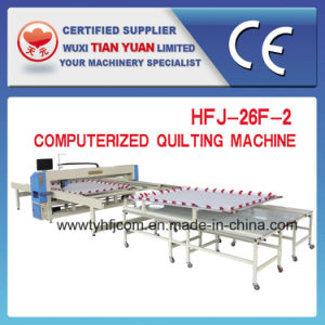 Hfj-26f-2 Single Needle Computer Quilting Machine pictures & photos