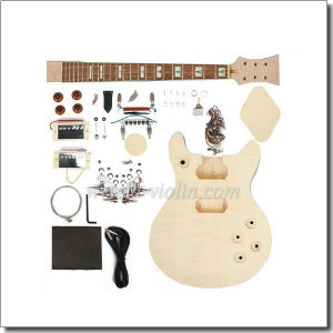 Double Cutaway DIY Electric Guitar Kits (EGR201A-W2) pictures & photos