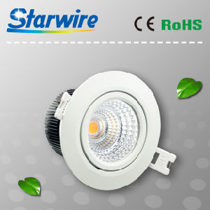 7W/8W High Lumen 3 Years Warranty Dimmable COB LED Downlights pictures & photos