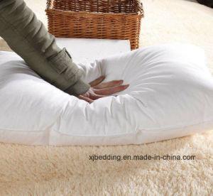 Natural 100% Cotton Shell Sleep Pillow Duck Down Pillow pictures & photos