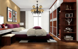 High End Bedroom Wardrobe (Zy-040) pictures & photos