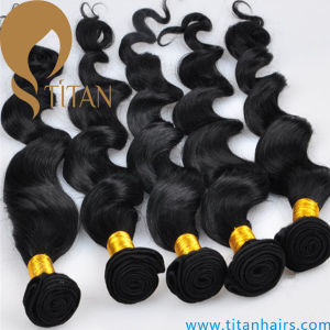 Loose Wave Remy Malaysian Human Hair Weft pictures & photos