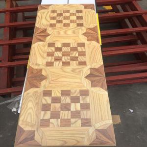 Mosaic Art Parquet HDF AC4 Laminate Flooring pictures & photos