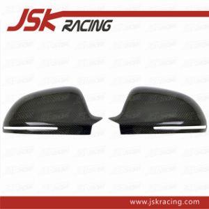 2009-2013 Carbon Fiber Mirrors Cover for Audi A4 B8 (JSK030123)