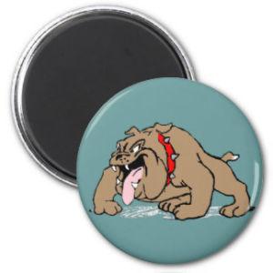 Cartoon Art Bulldog Fridge Magnet pictures & photos