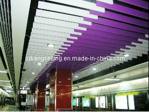 Customized Square Tube Ceiling for Interior Decoration