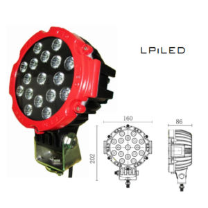 LED Work Light for Car Road off Lighting (LPILED-C160-51W) pictures & photos