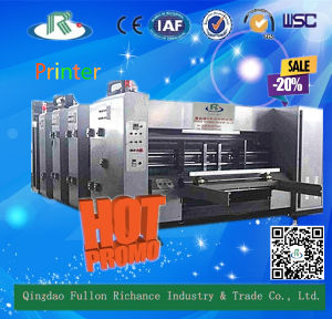 High Quality Carton Box Flexo Printing Machine pictures & photos