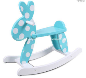Factory Supply Rocking Horse Wooden Rabbit Rocker pictures & photos