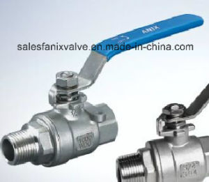 2PC Thread Ball Valve (female-male) pictures & photos