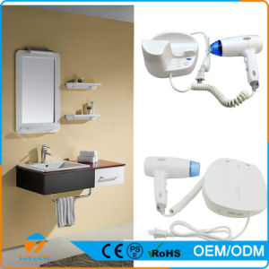Durable Wall-Mounted Hair Dryer for Hotel Bathroom Use pictures & photos