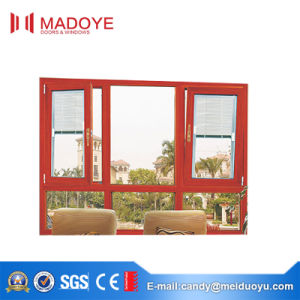 Excellent Quality Casement Window with Electric Blinds pictures & photos