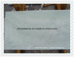 Chinese Quality Light Green Marble Onxy Tile for Swimming Pool pictures & photos
