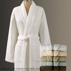 Polar Fleece Hotel Bathrobe pictures & photos