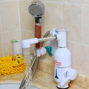 Bathroom Faucet 5′′ Heating Electric Instant Hot Water Faucet