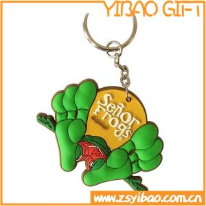 Hot Sale Soft PVC Keychain for Chiristmas Promotional Gift (YB-K-012) pictures & photos