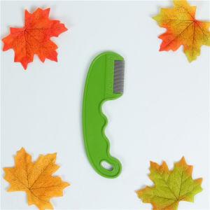 Pet Green Plastic Steel Needle Flea Comb pictures & photos