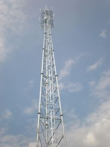 High Quality Angle Steel HDG Tubular Telecom Tower pictures & photos