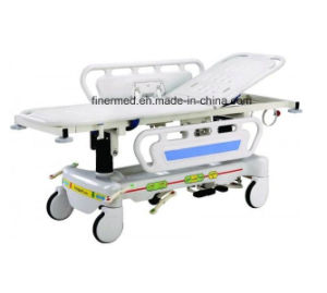 Adjustable Hospital Patient Transport Trolley pictures & photos