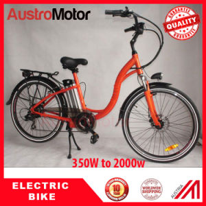 250W 350W 500W 26inch Hidden Battery Ebike, City E-Bike, Fat Tire City Ebike
