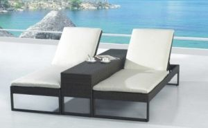 Outdoor Rattan Furniture Leisure Lounge Bed -4 pictures & photos