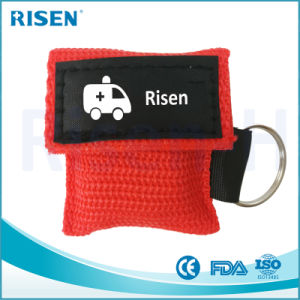 Promotional Gift Mini Disposable Medical CPR Face Shield CPR Life Key pictures & photos