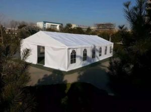 PVC Coated Polyester Tent Fabric Booth Tent Tb0037 pictures & photos