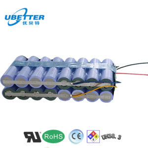 18650 Rechargeable 14.8V 10.4ah Lithium Ion Battery pictures & photos